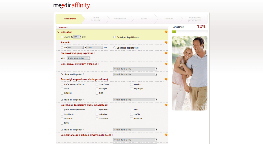 meetic affinity illustration