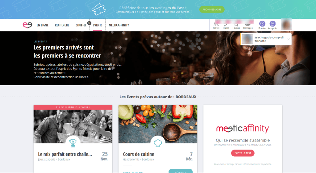 meetic illustration evenement