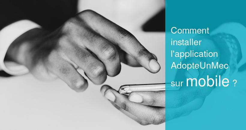 adopteunmec mobile installation