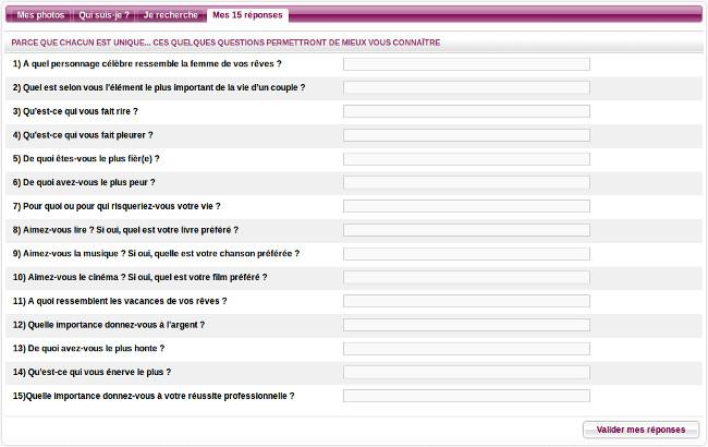 inshallah question profil