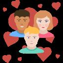 relation trois personnes